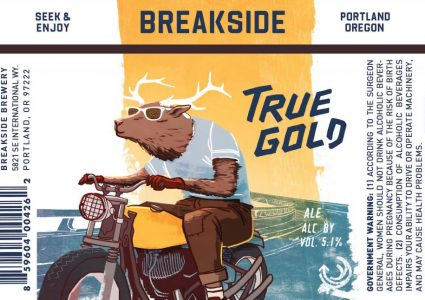 Breakside Brewery True Gold