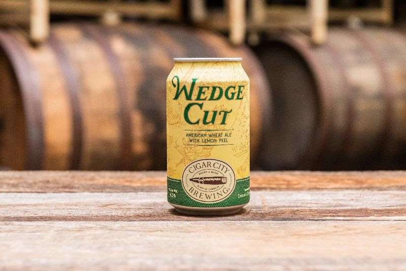 Cigar City Brewing - Wedge Cut American Wheat Ale with Lemon