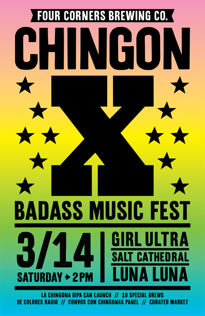 Four Corners Brewing Co. - Chingon X Music Fest