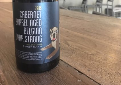 Cabernet Barrel Aged Belgian Dark Strong