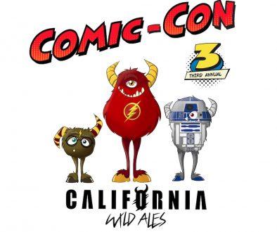 California Wild Ales Comic-con 2021