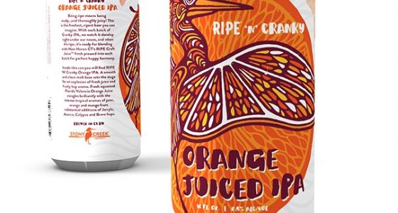 Stony Creek Brewery - Ripe 'N' Cranky Juiced IPA Series (Cans)