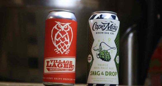 Cape May and Night Shift Brewing
