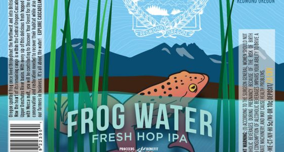 Cascade Lakes Frog Water Fresh IPA