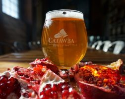 Catawba Pomegranate Sour