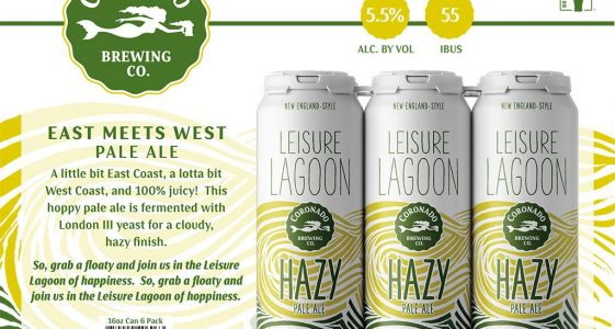 Coronado Brewing - Leisure Lagoon Hazy Pale Ale