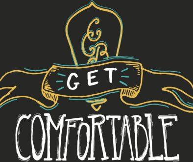 Creature Comforts Get Comfortable Logo