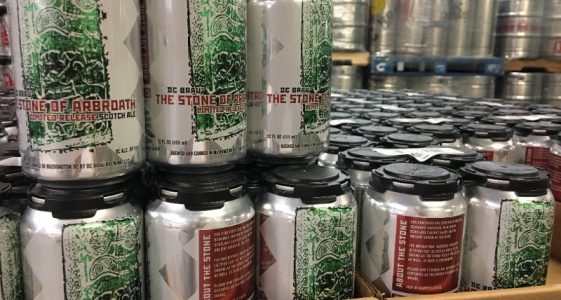 DC Brau Stone of Arbroath Cans