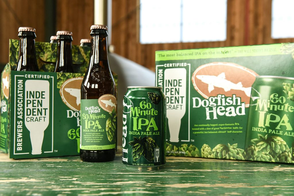 Dogfish Head - 60 Minute IPA 2019 (BA Seal)