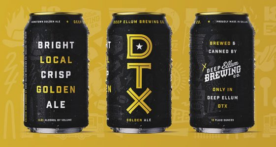 DTX Golden Ale Deep Ellum