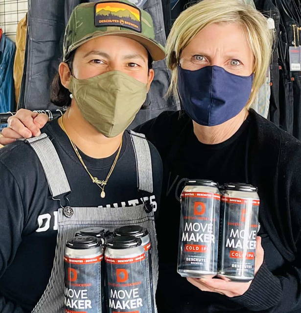 Deschutes Brewery Collabs with Dovetail Workwear to Support Women in Beverage Industry thumbnail