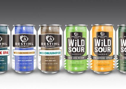 Destihl Brewery Cans 2017