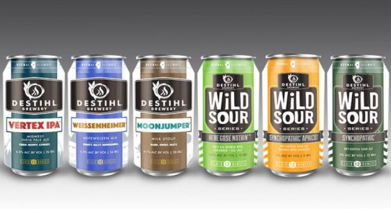 Destihl Brewery Cans 2017
