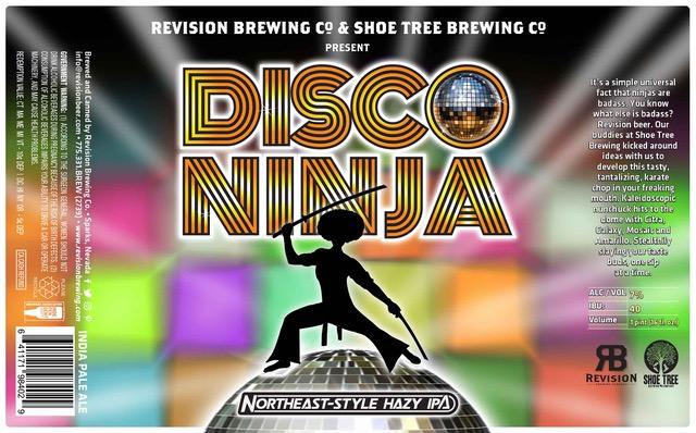 Revision Brewing Disco Ninja