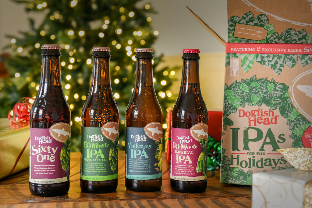Dogfish Head IPAs for the Holidays