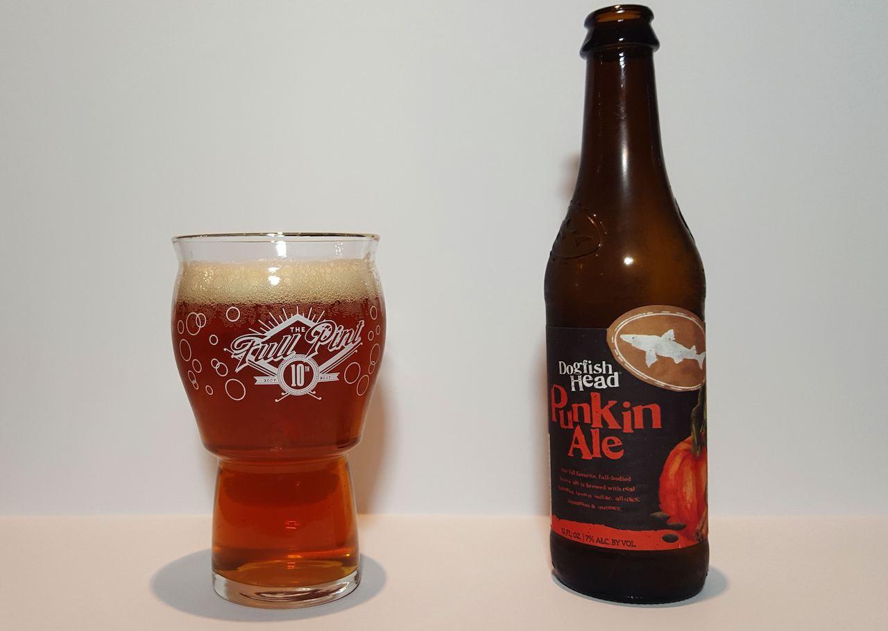 Reviewed Dogfish Head Punkin Ale  thefullpintcom