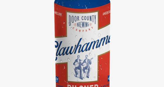 Door County Clawhammer Pilsner