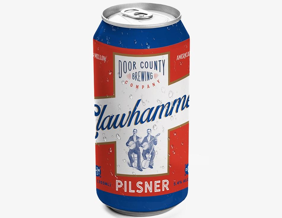 Door County Clawhammer Pilsner