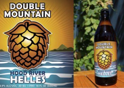 Double Mountain Hood River Helles