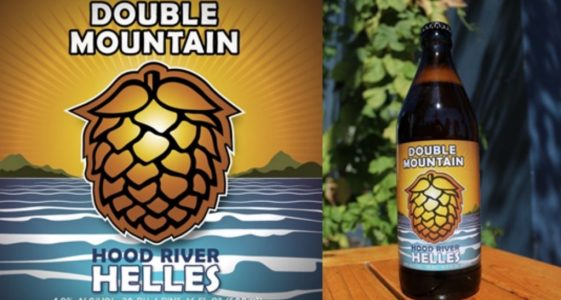 Double Mountain Hood River Helles