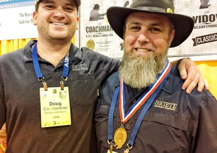 Doug and Travis GABF