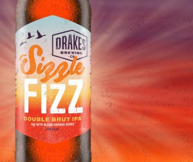Drake's Sizzle Fizz Double Brut IPA Bottle