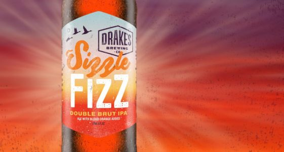 Drake's Sizzle Fizz Double Brut IPA Bottle