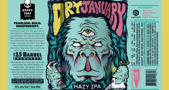Heavy Seas Beer - Dry January Hazy IPA
