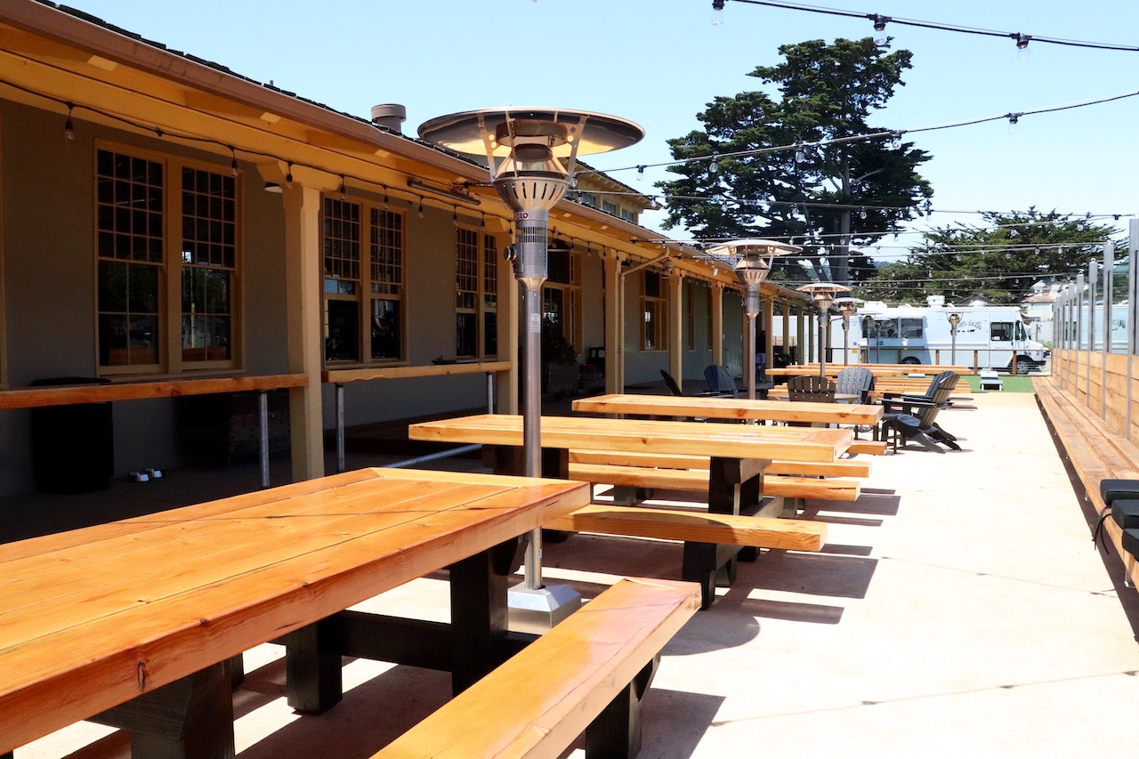 Dust Bowl Monterey Tap Depot - Back Patio Picnic Tables
