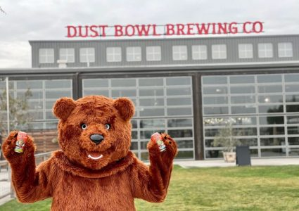 Dust Bowl's Barley the California Golden Ale Bear
