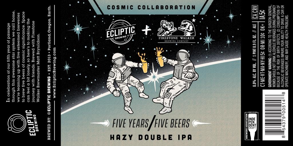 Ecliptic Brewing / Firestone Walker - Cosmic Collaboration - Five Years/Five Beers