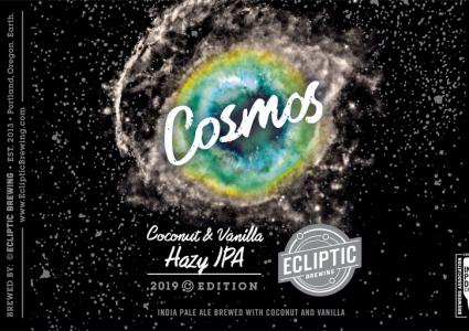 Ecliptic Brewing - Cosmos Coconut & Vanilla Hazy IPA