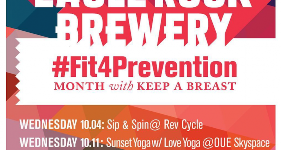 Eagle Rock Brewery / Keep A Breast - #Fit4Prevention