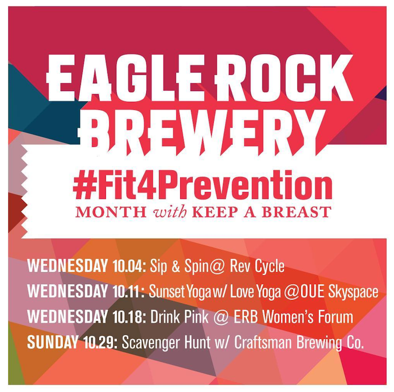 Eagle Rock Brewery / Keep A Breast - Fit 4 Prevention