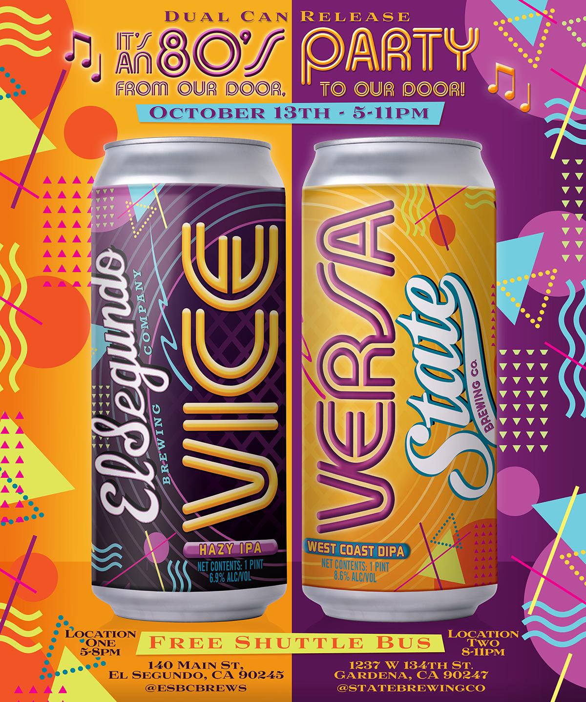 El Segundo Brewing / State Brewing - Vice Versa