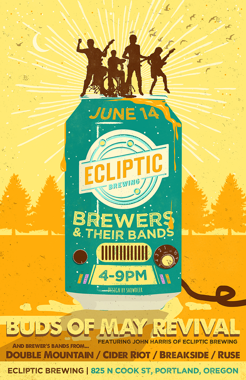 Ecliptic Brewing - Brewers & Their Bands