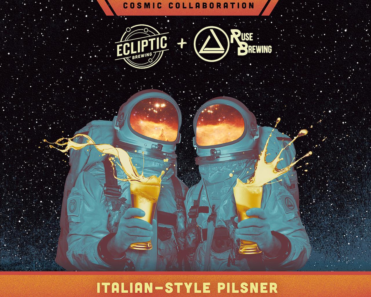 Ecliptic Ruse Italian Style Pilsner
