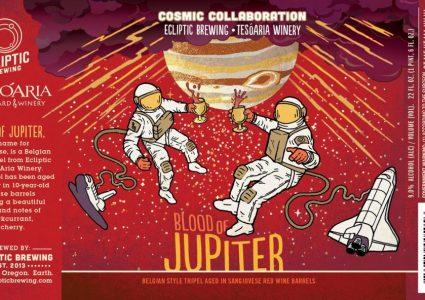 Ecliptic Brewing + TeSoAria Winery - Blood of Jupiter