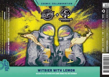 Ecliptic Witbier with Lemon