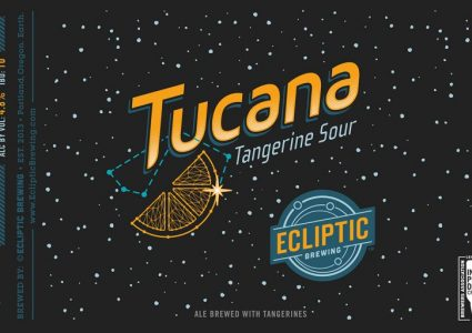 Ecliptic Brewing - Tucana Tangerine Sour