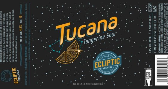 Ecliptic Brewing - Tucana Tangerine Sour