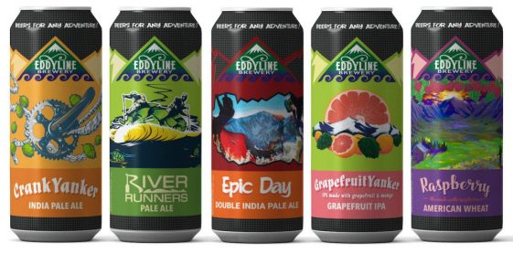 Eddyline Brewing 2018 Cans