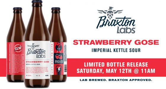 Braxton Labs Strawberry Gose