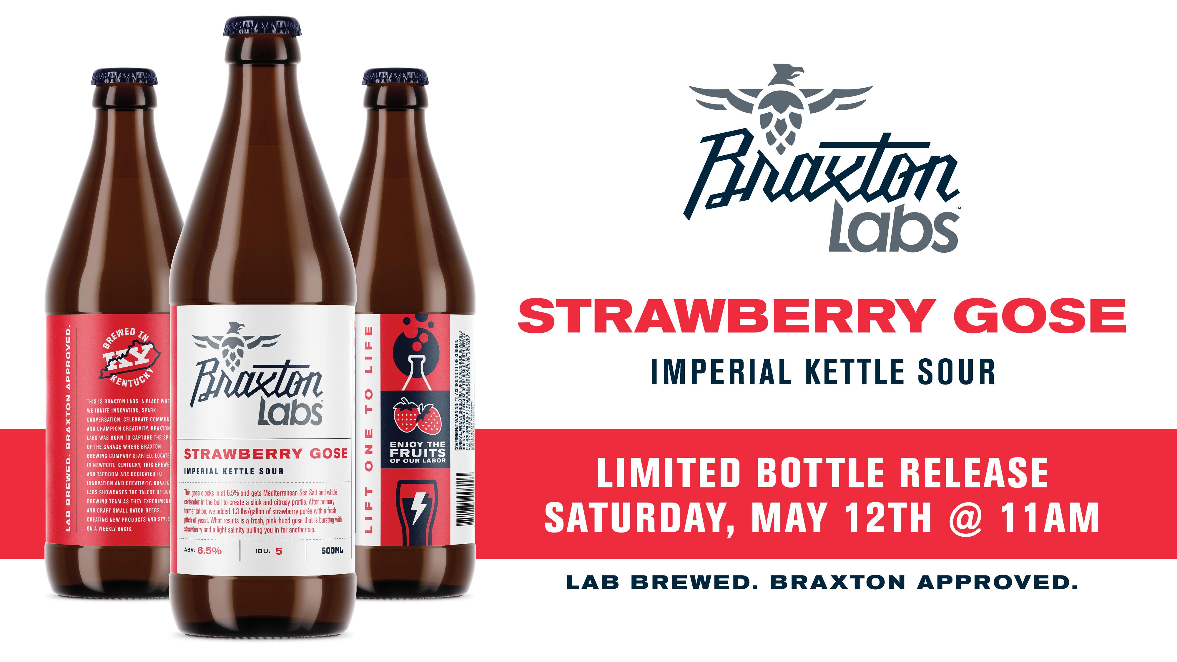 Braxton Labs Strawberry Gose