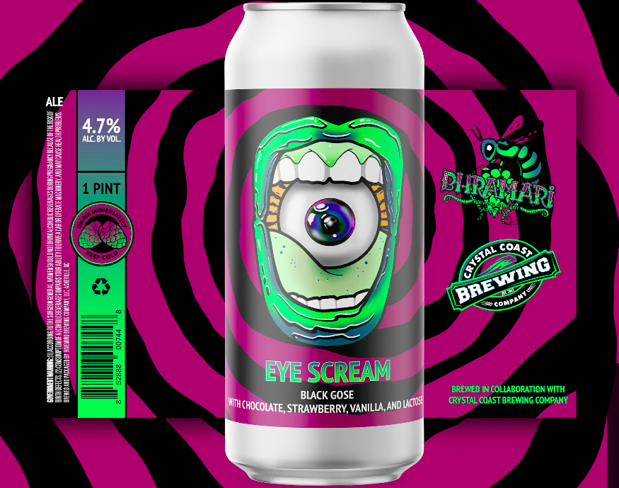 Eye Scream Can Label