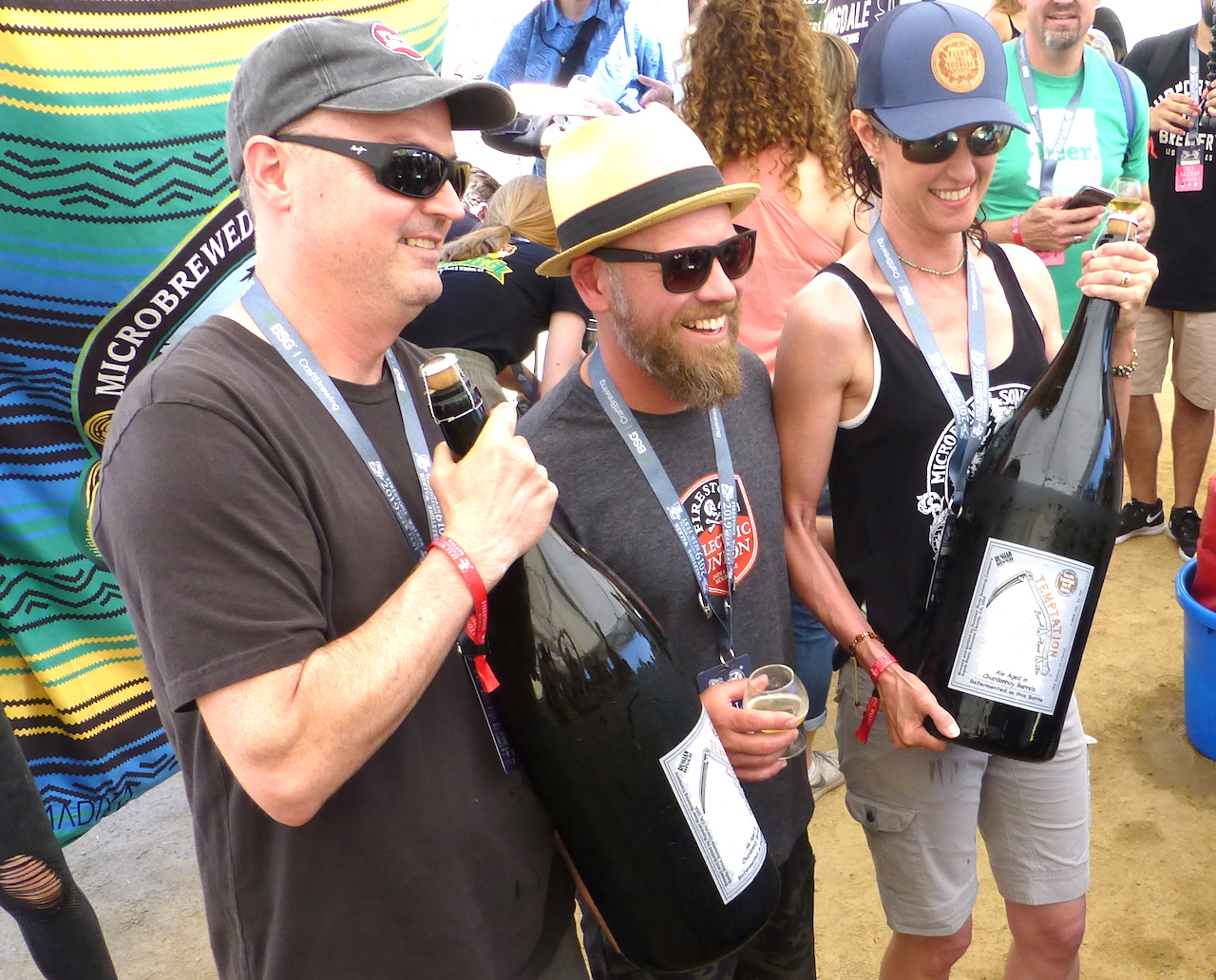 Firestone Walker Invitational 2019 Vinnie Matt Natalie
