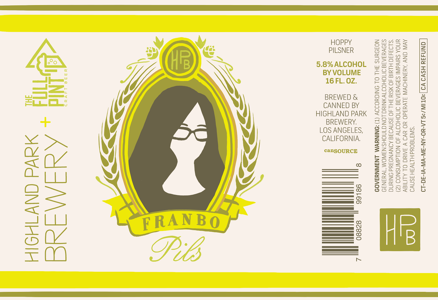 Franbo Pils Label