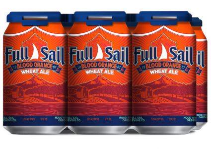 Full Sail Blood Orange Wheat Ale Cans