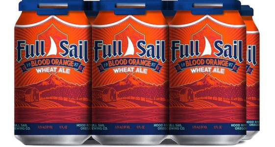 Full Sail Blood Orange Wheat Ale Cans
