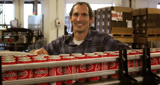 Full Sail Brewing Can Line & Director of Brewery Operations Collin Godkin
